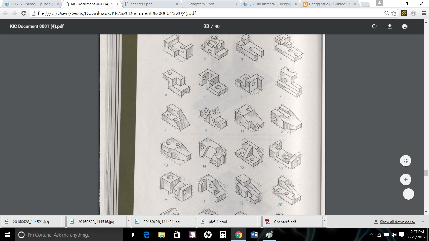 Solved Multiview Sketching Problems Sketch Necessary Ort
