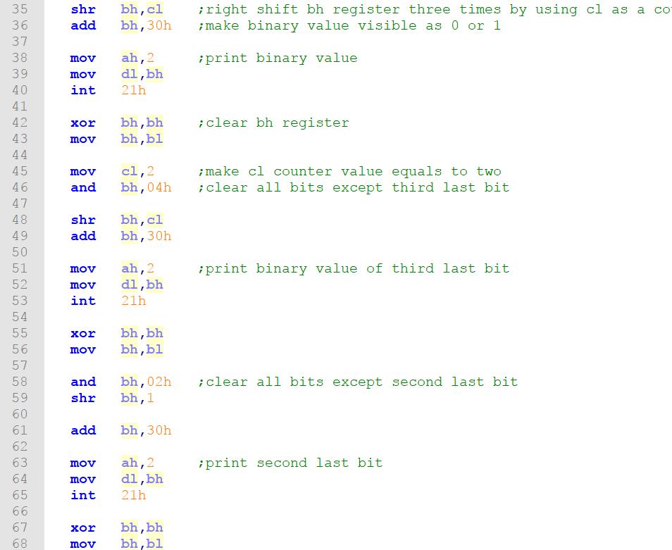Solved: Using 8086 Assembly Language And NASM Assembler Er