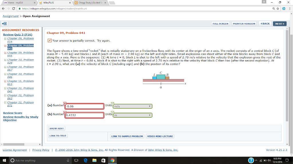 Solved: Wiley PLUS Chegg Study Guided Sc X C Https:ileduge