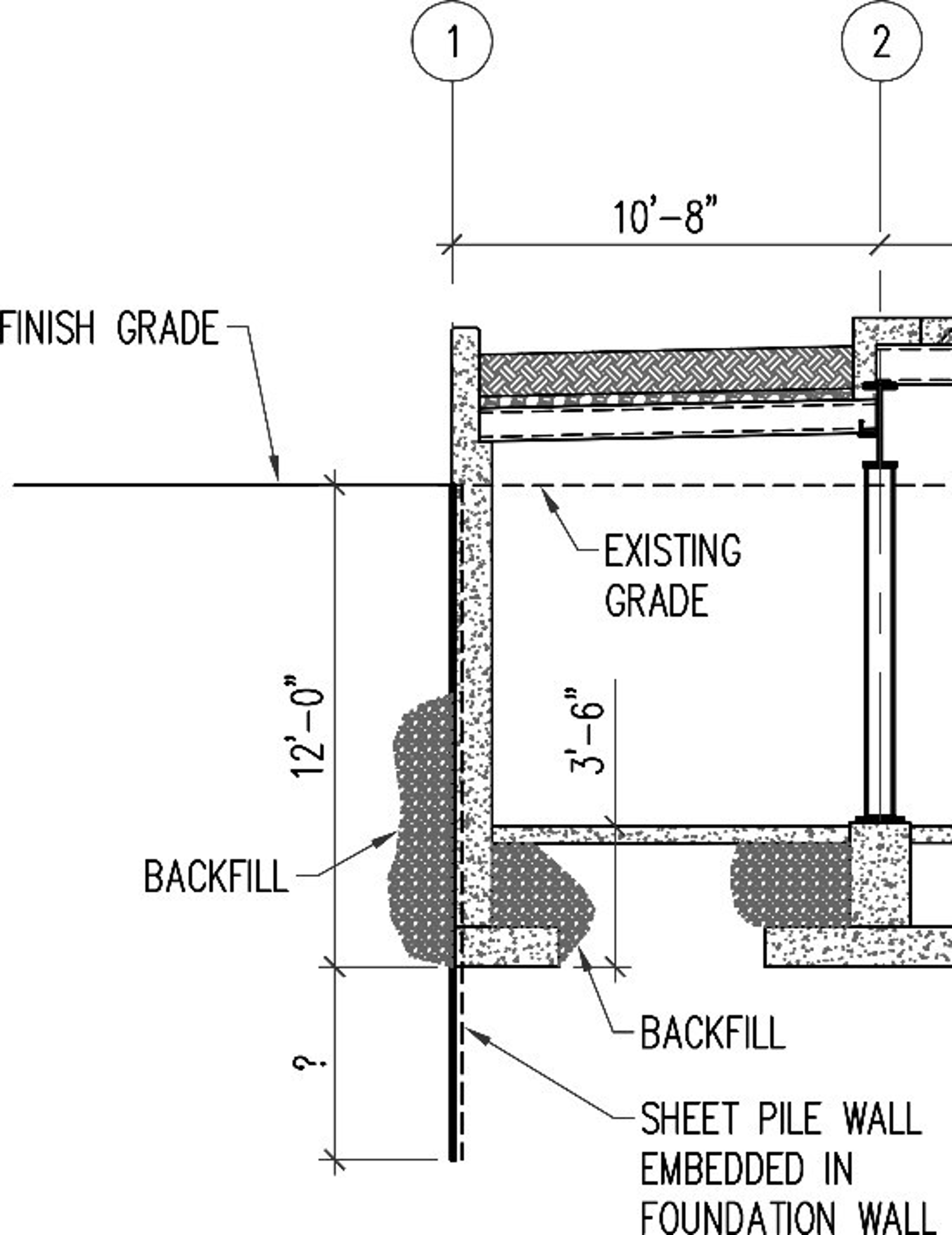 foundation wall diagram problem statement you are tasked with designing th chegg com  problem statement you are tasked with