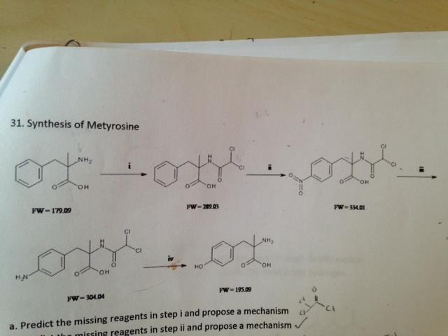 Image result for metyrosine SYNTHESIS