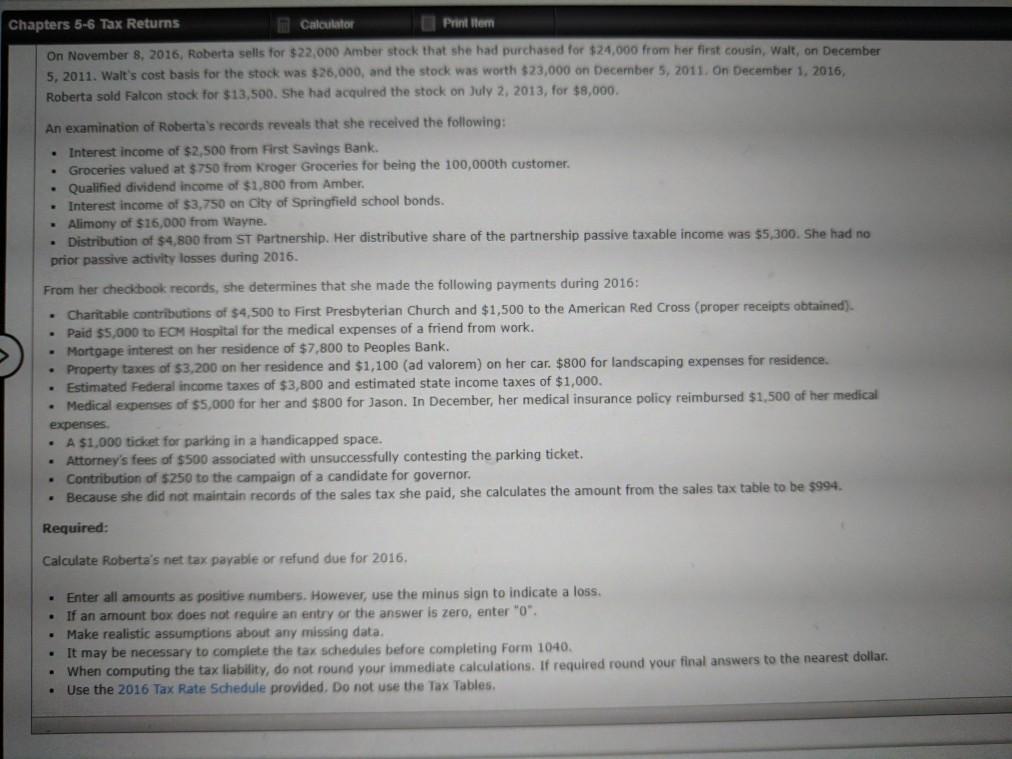 Complete Form 1040 Schedule A Schedule B Schedu Chegg