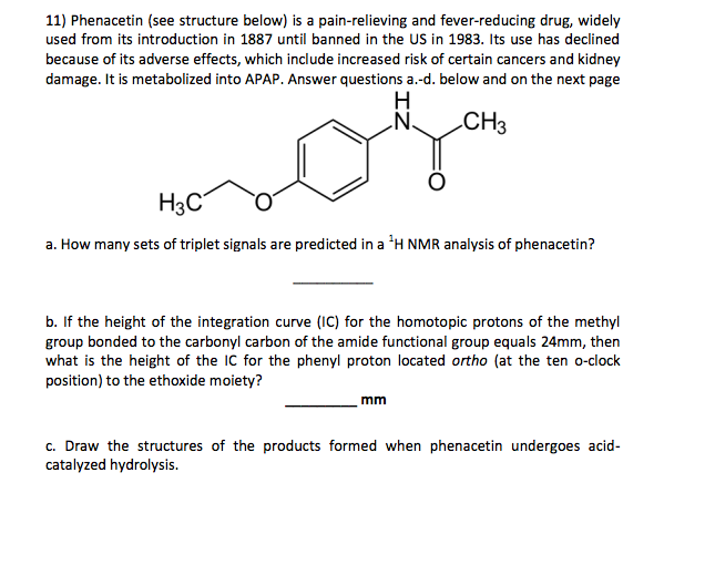 amide synthesis of phenacetin Potential application of thermo-sensitive hydrogels for thermo-sensitive hydrogels for controlled release of the procedure of phenacetin synthesis.