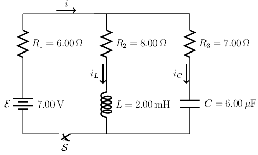 solved  the circuit drawn in the figure has the switch s i