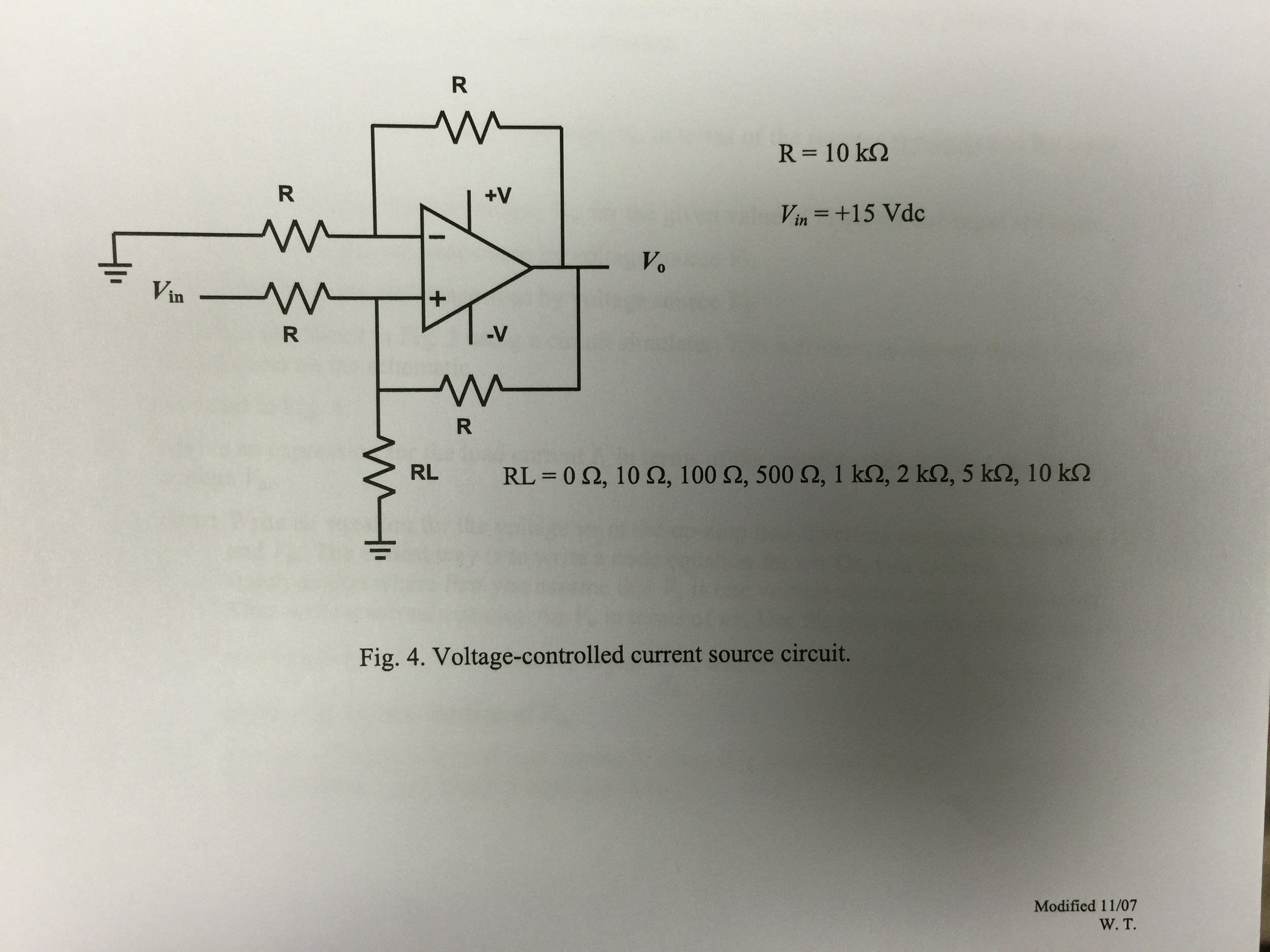 Solved: Derive An Expression For The Load Current IL In Te ...