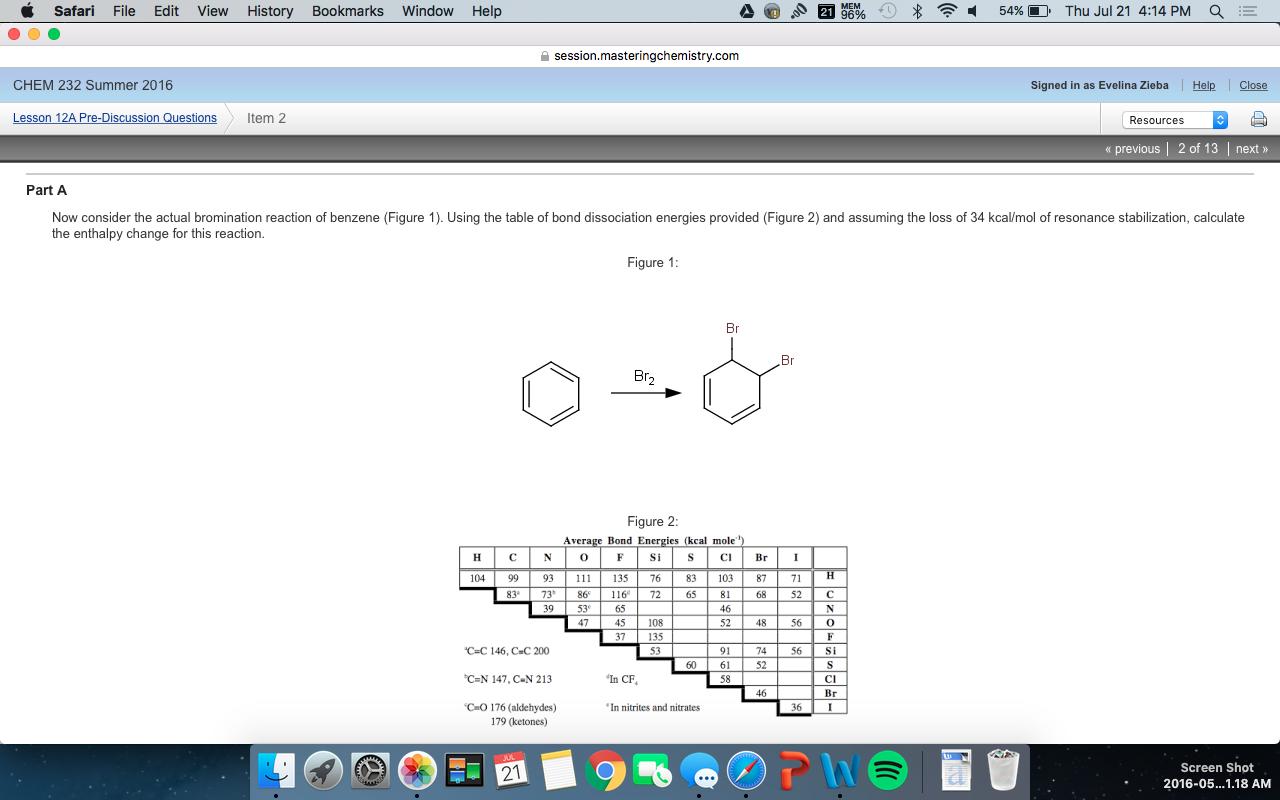 Chemistry Archive   July 21, 2016   Chegg.com