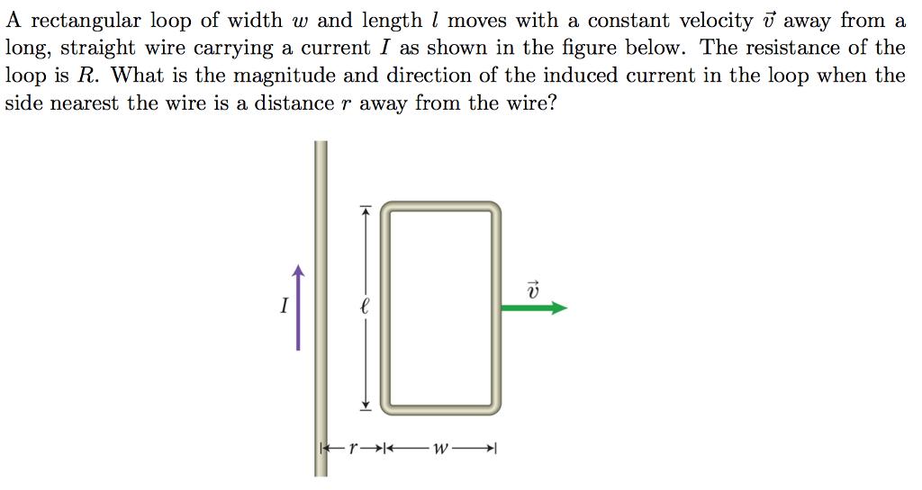 Rectangle loop