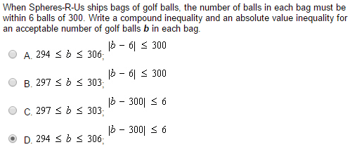 Solved: When Spheres -R -Us Ships Bags Of Golf Balls, The