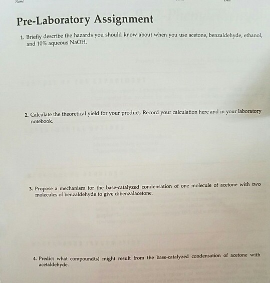 Solved: Pre-Laboratory Assignment 1  Briefly Describe The