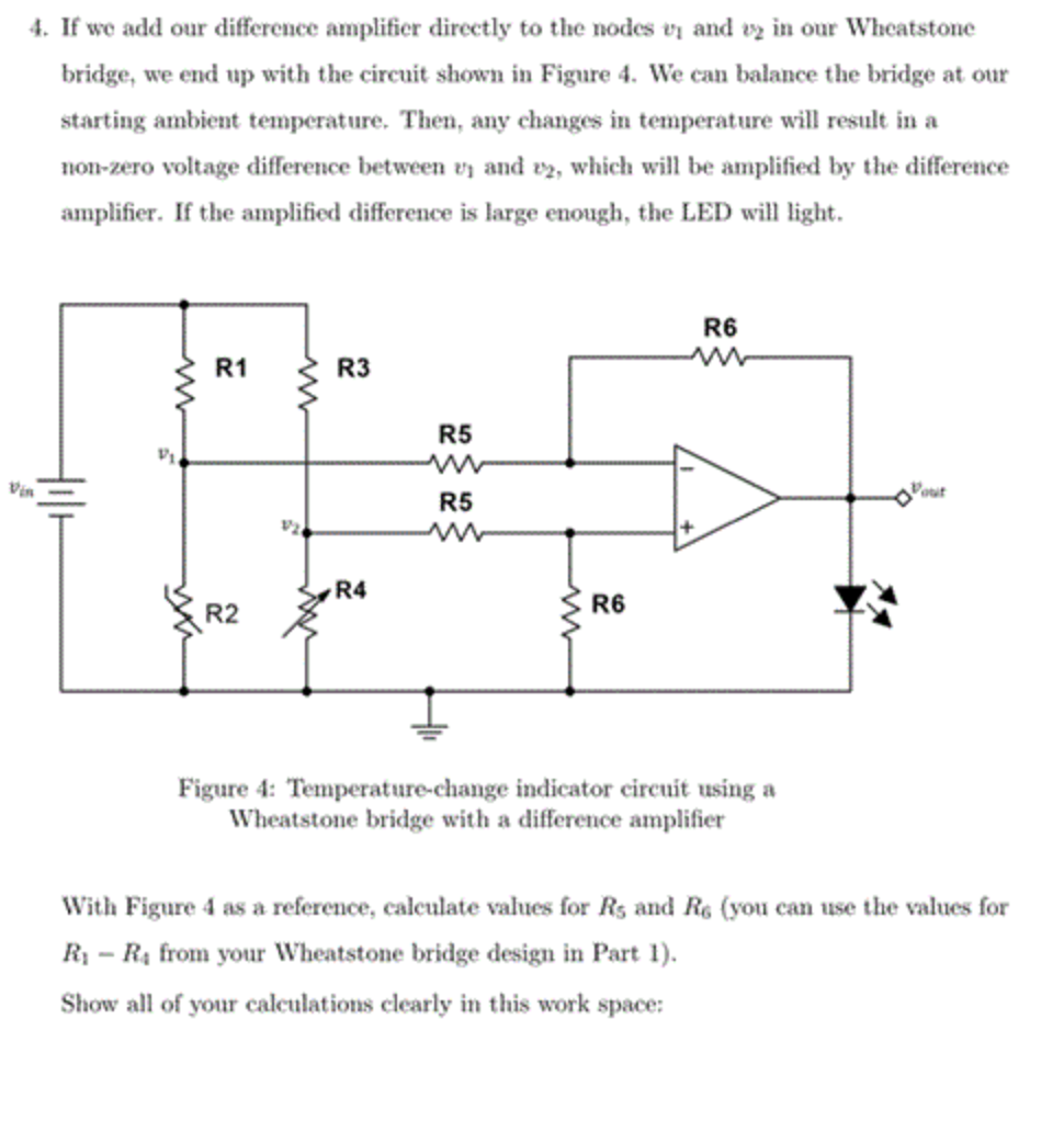 If We Add Our Difference Amplifier Directly To The Leds Temperature Indicator Circuit Diagram