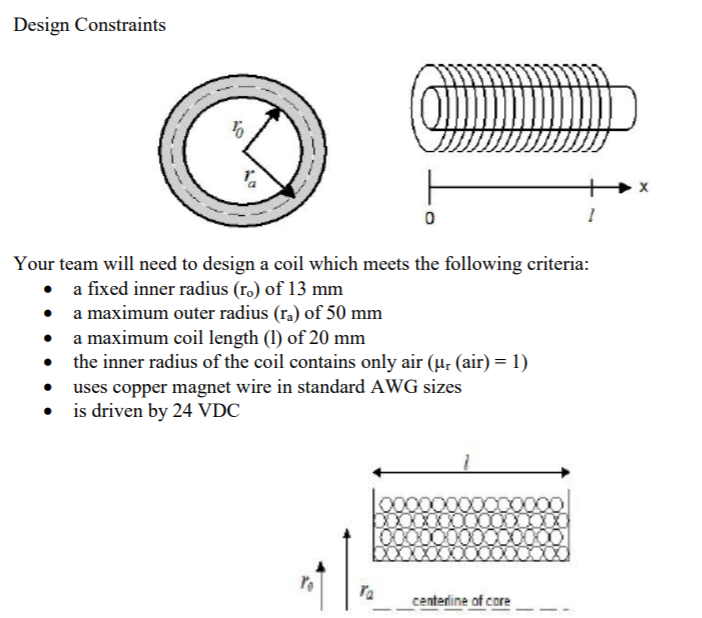 Create an algorithm to calculate the maximum numbe chegg design constraints 0 your team will need to design a coil which meets the following criteria keyboard keysfo Image collections