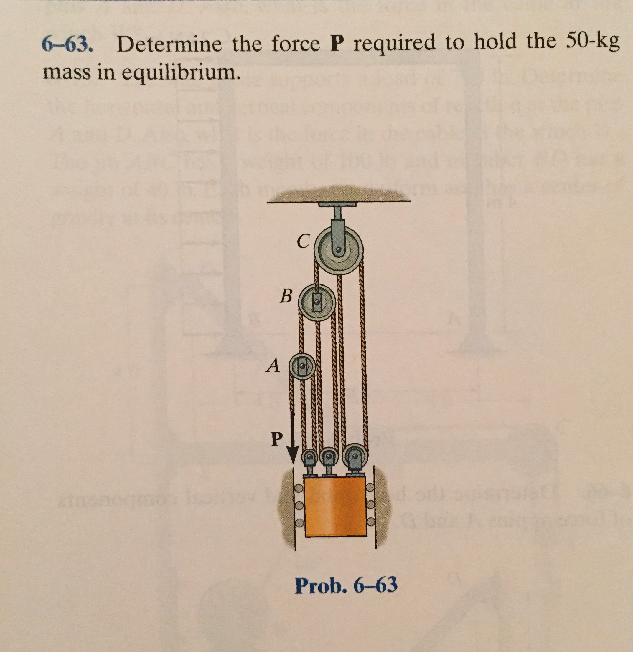 What force is required to hold a marble slab weighing 1 ton in water 24