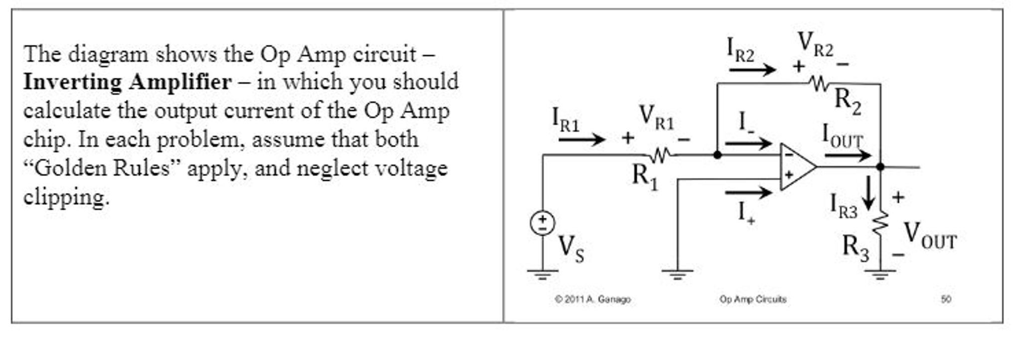 Solved The Diagram Shows Op Amp Circuit Inverting A Opamp Inverter