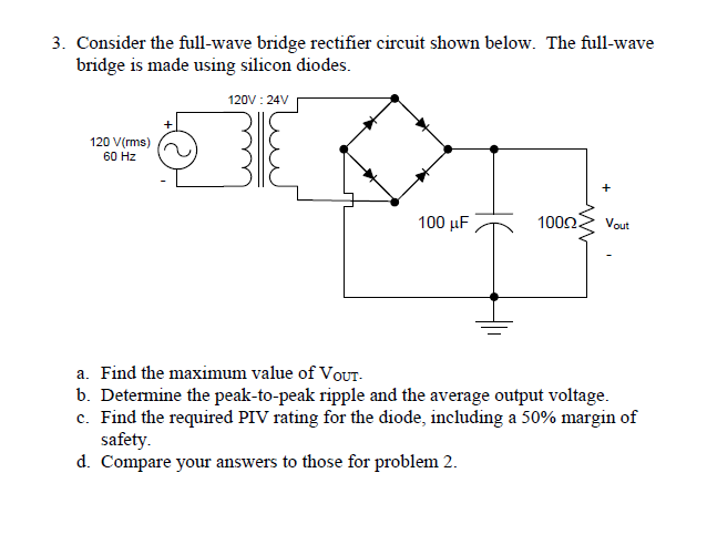 24v Rectifier Wiring Diagram Circuit Symbols \u2022 Full Wave Bridge: Kbpc5010 Bridge Rectifier Wiring Diagram At Eklablog.co
