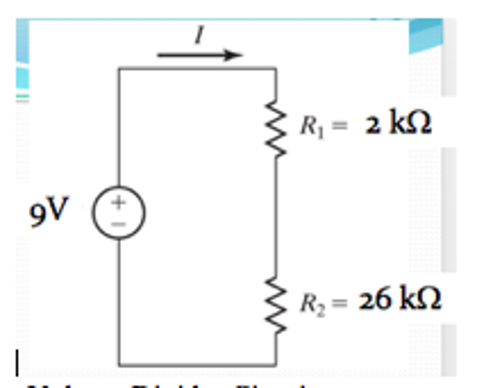 Solved How Do You Create The Voltage Divider Circuit On A Diagram Expert Answer