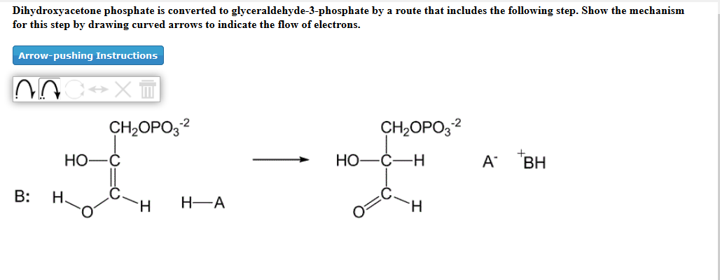 solved dihydroxyacetone phosphate is converted to glycera