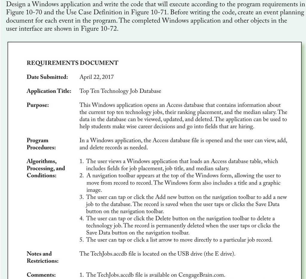 Solved: I Need The Below Application. The Screenshots Are ...