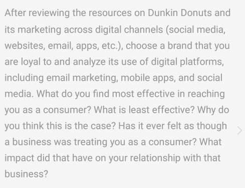 Operations management archive march 27 2017 chegg after reviewing the resources on dunkin donuts and its marketing across digital channels social media fandeluxe
