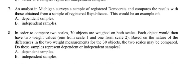 solved an analyst in michigan surveys a sample of registe