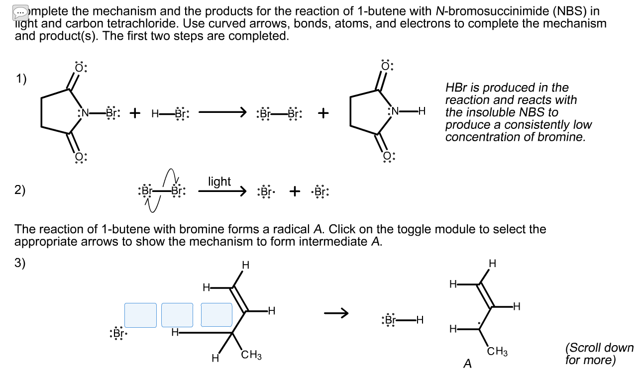 Complete The Mechanism And The Products For The Re Cheggcom