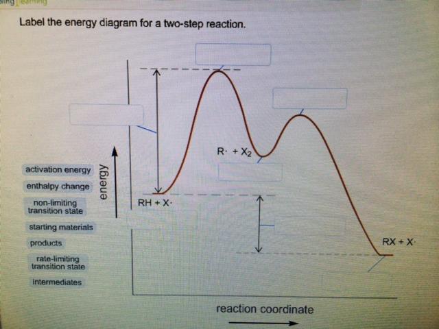 solved label the energy diagram. Black Bedroom Furniture Sets. Home Design Ideas