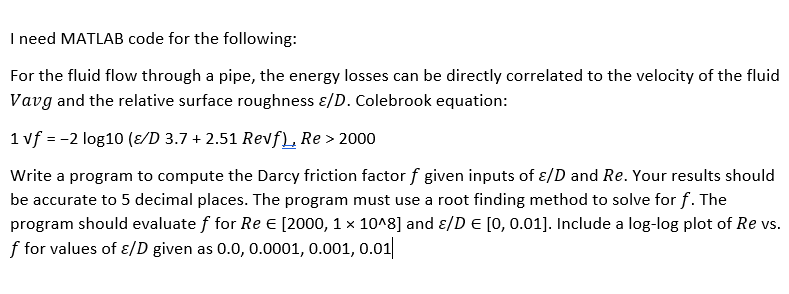 Matlab Code For Fluid Flow