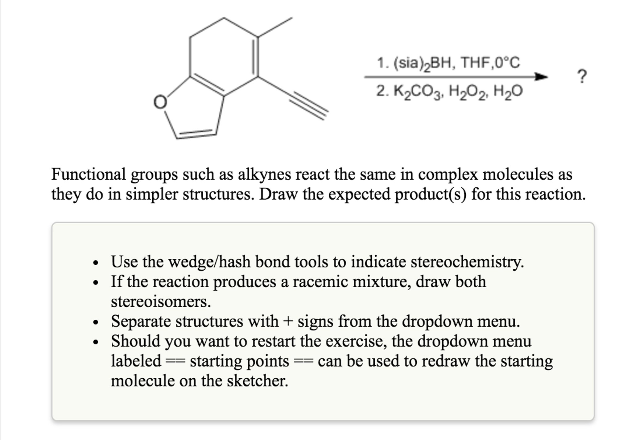 Solved: Functional Groups Such As Alkynes React The Same I