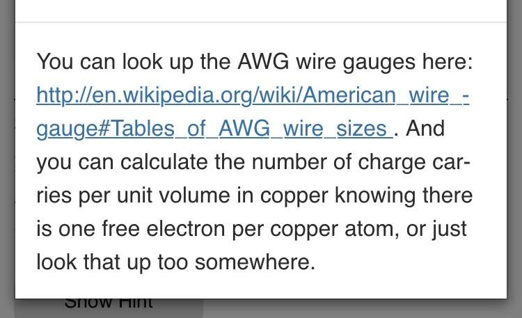Solved 3 long time for an electron how long in minutes long time for an electron how long in minutes does it take an electron to travel along a 6 meter length of gauge 16 awg copper wire greentooth Gallery