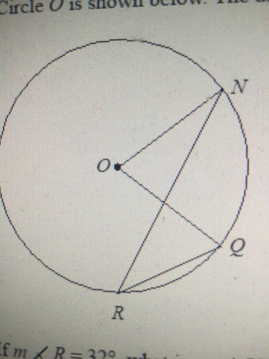 In The Diagram Below Of Circle O