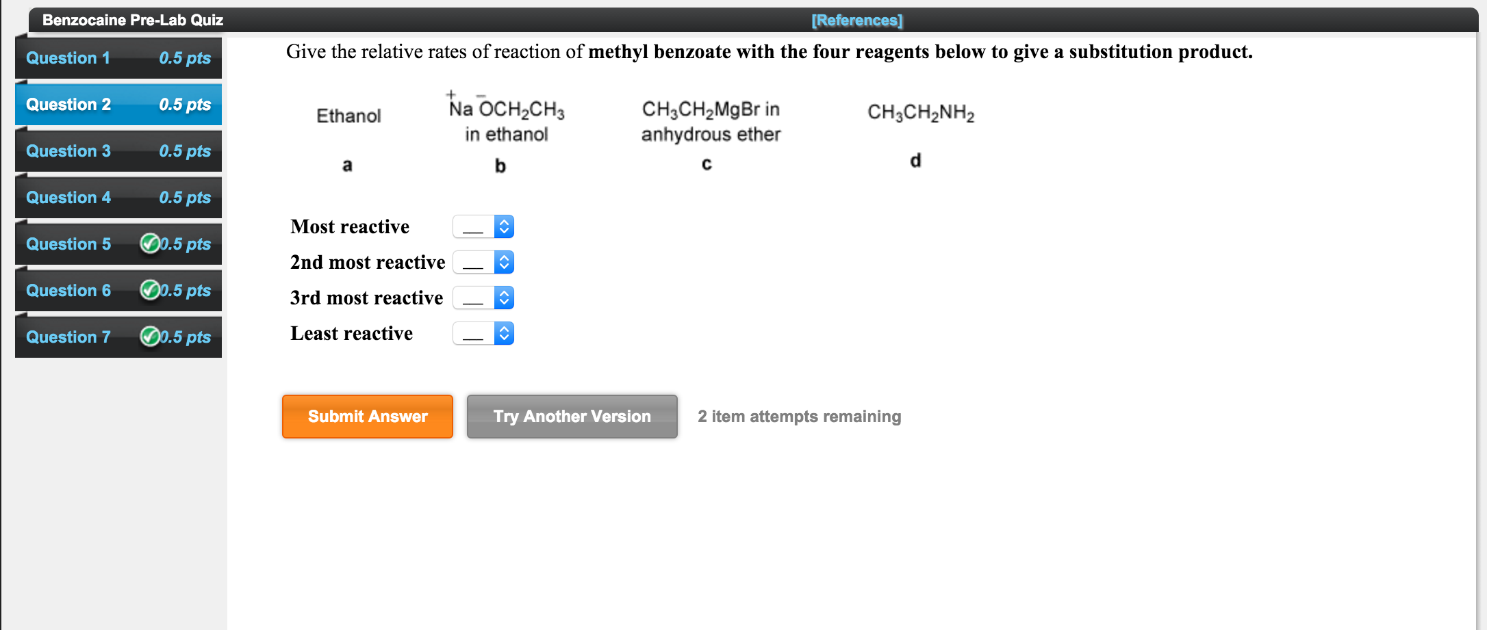 title nucleophillic substitution reaction essay Aromatic nucleophilic substitution (s nar) although less common, nucleophilic substitution reactions are possible for aromatic compounds neither s n2 nor s n1 are viable routes for this reaction, for different reasons s title: nucleophilic author.