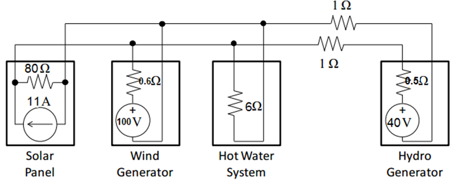 Solved: Draw A Circuit Diagram Of The System Described Abo ...