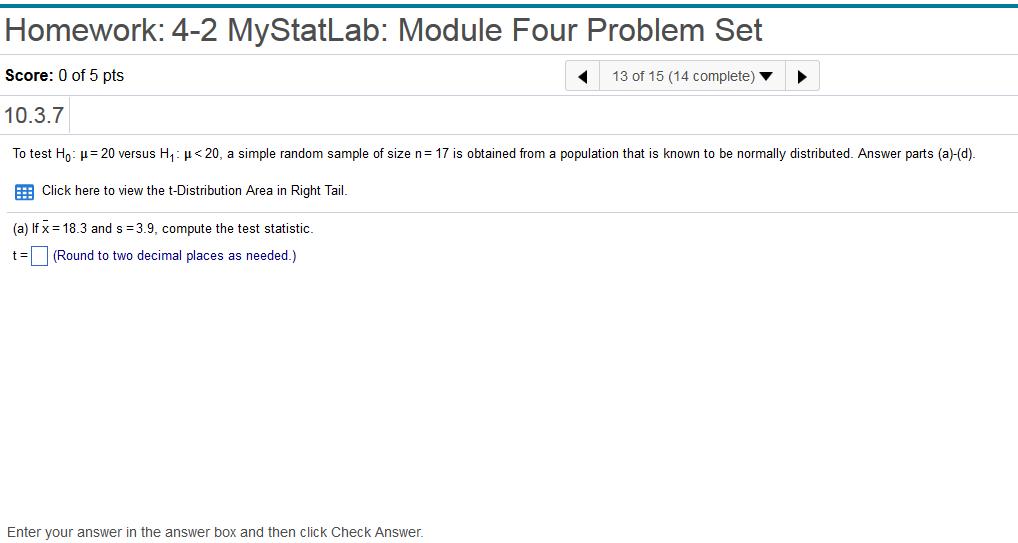 Statistics and probability archive february 03 2018 chegg homework 4 2 mystatlab module four problem set score 0 of 5 fandeluxe Gallery