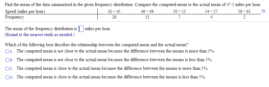 how to compute frequency distribution