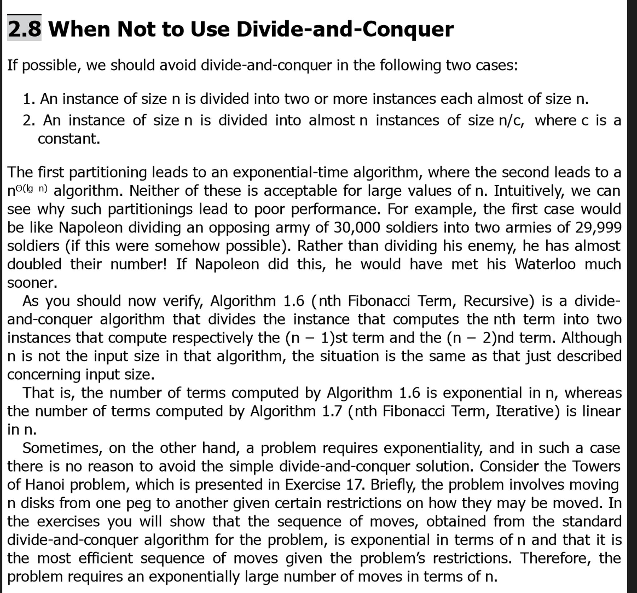 Homework 2 –Divide and Conquer - Homework Dave