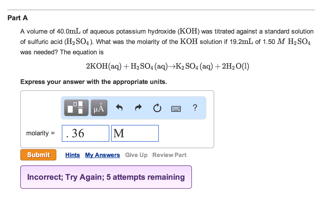 Solved: MASTERING CHEMISTRY HELP! PLEASE SHOW THE STEPS AN