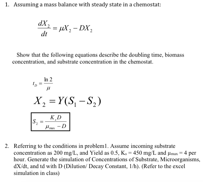 how to find steady state from equation