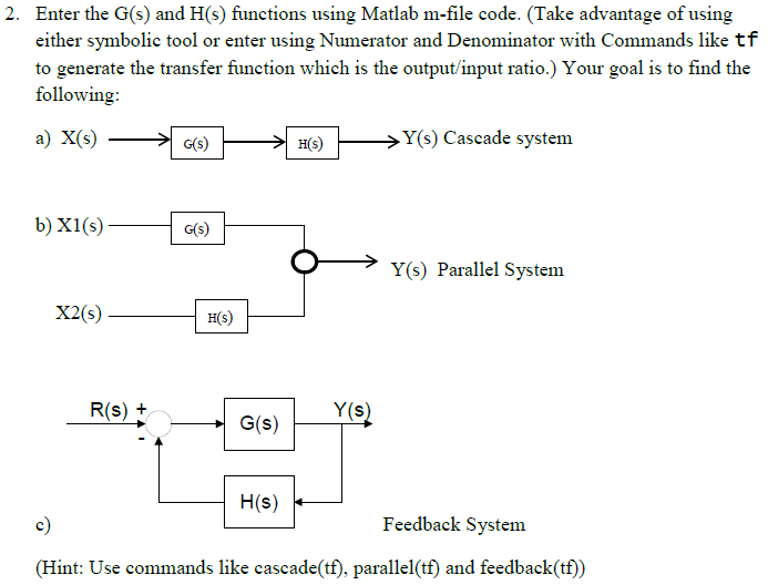 Solved: Please Help Me Out, Need To Write MATLAB Codes And