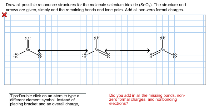 Solved: Draw All Possible Resonance Structures For The Mol