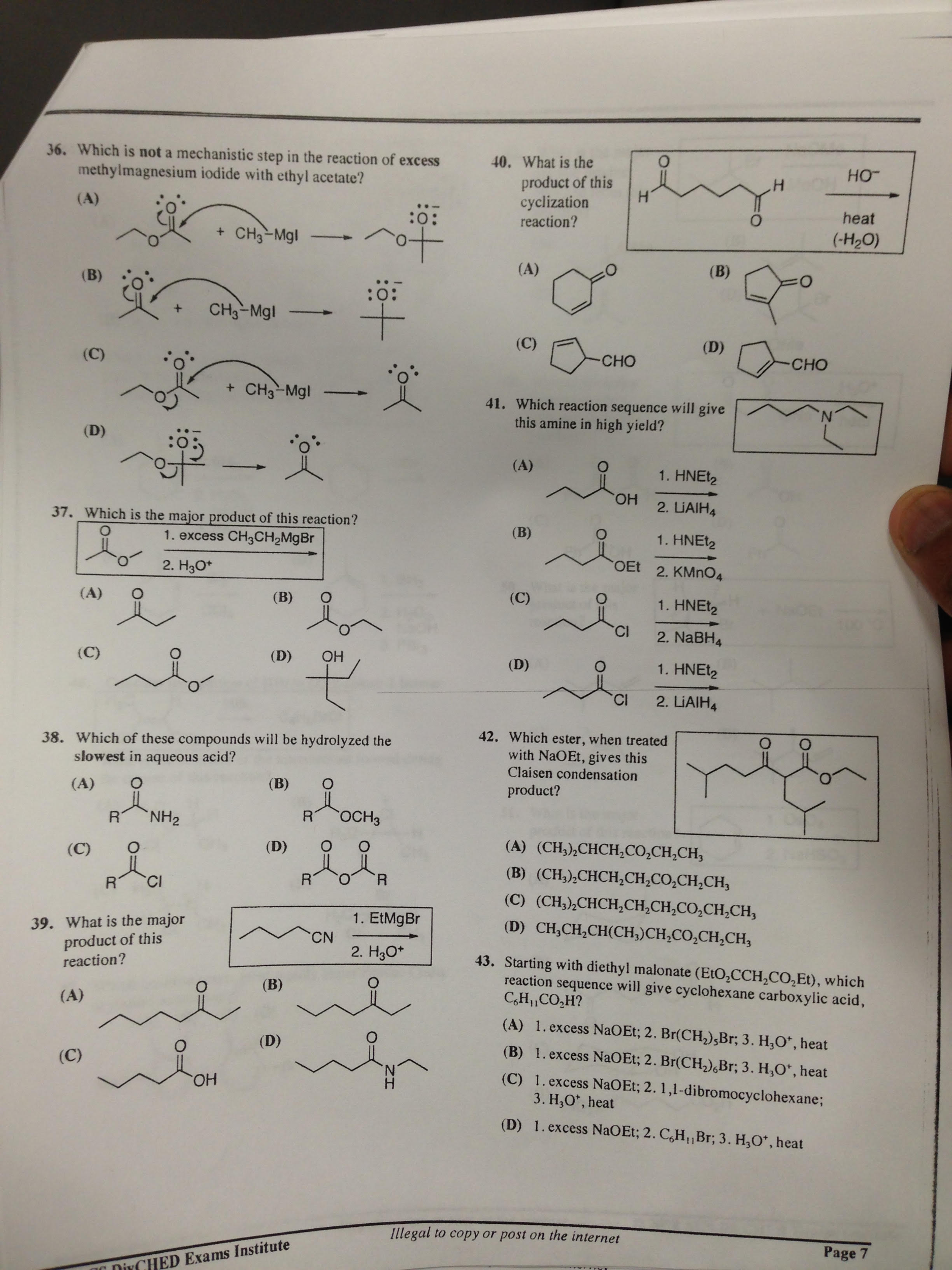 Solved: Which Is Not A Mechanistic Step In The Reaction Of
