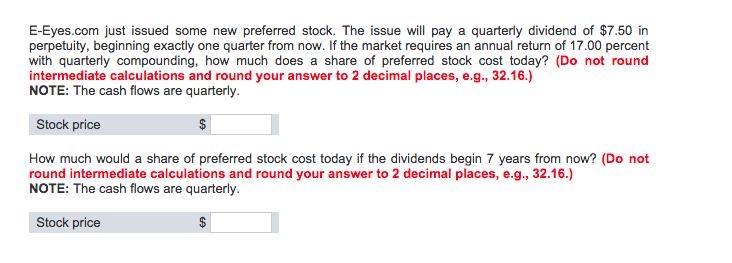 preferred stock essay