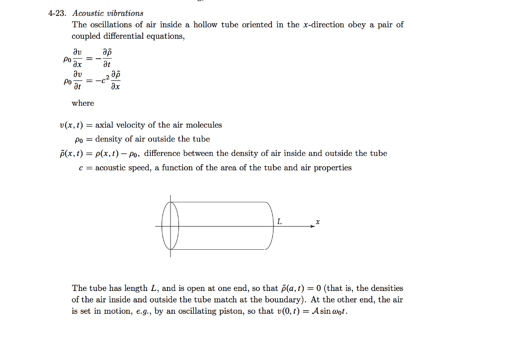 a) Combine The Coupled First-order PDEs Into A Si      Chegg com