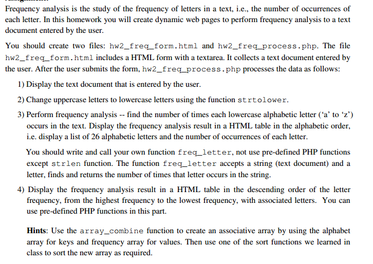 Frequency Analysis Is The Study Of Letters In A Text Ie
