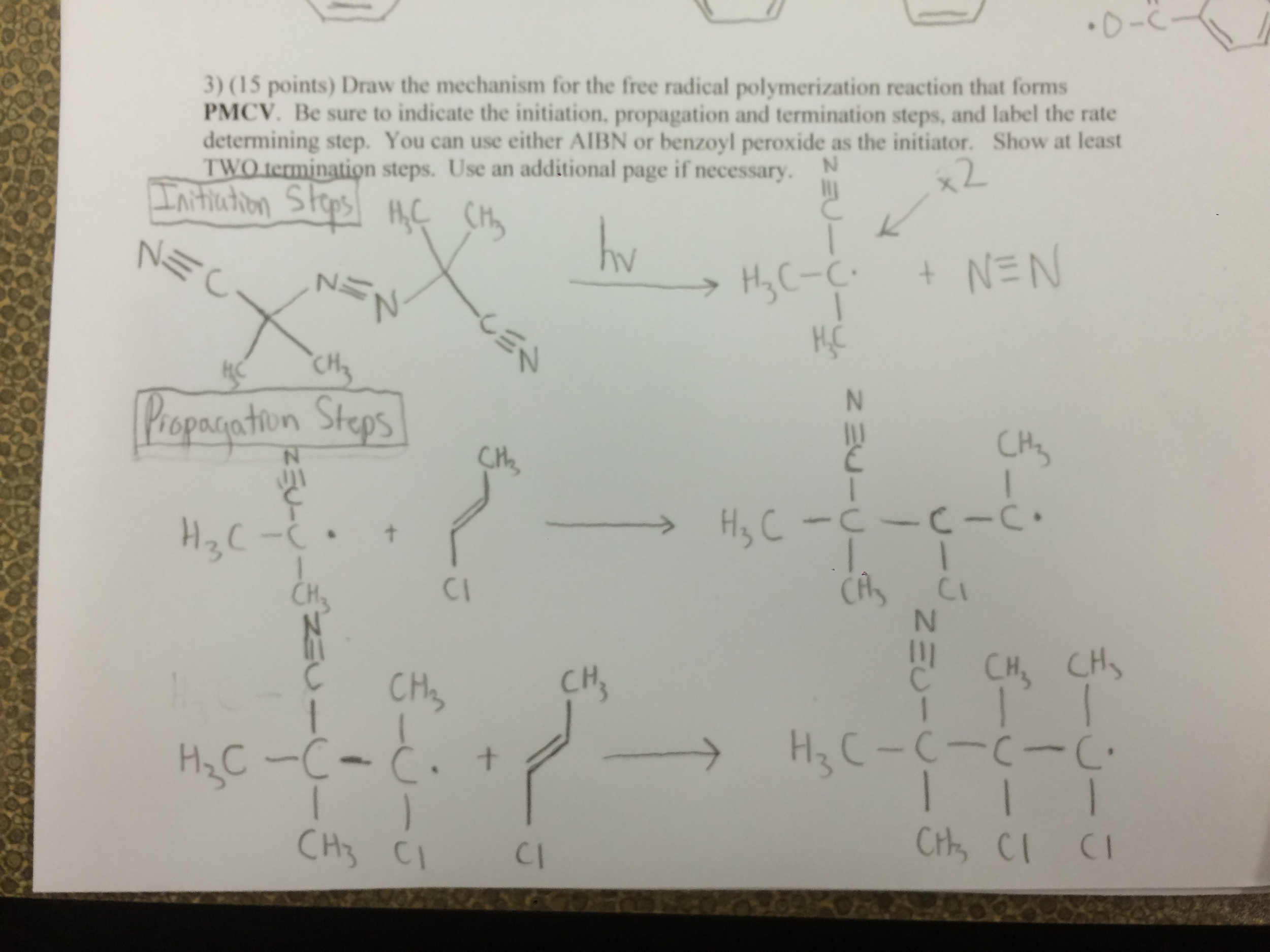 Solved: I Need Help On My Organic Chemistry Homework  It H