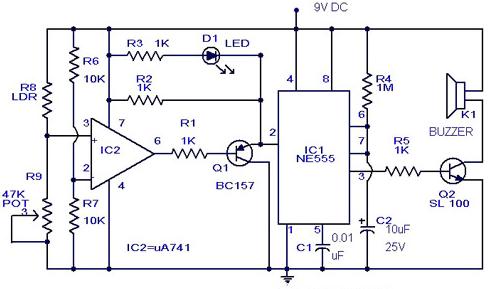 Door Alarm Circuit Diagram | Solved Descripe The Circuit Diagram And The Operation Of