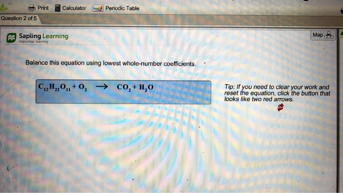 Solved: Print Calculator Periodic Table Question 2 Of 5 Sa ...