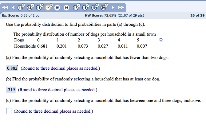 parts of frequency distribution table