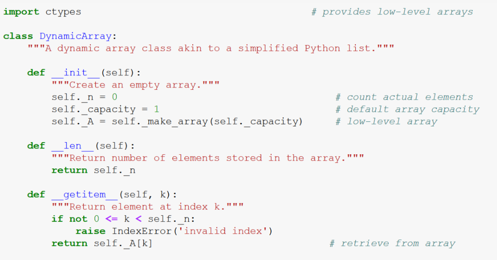 python how to make array empty