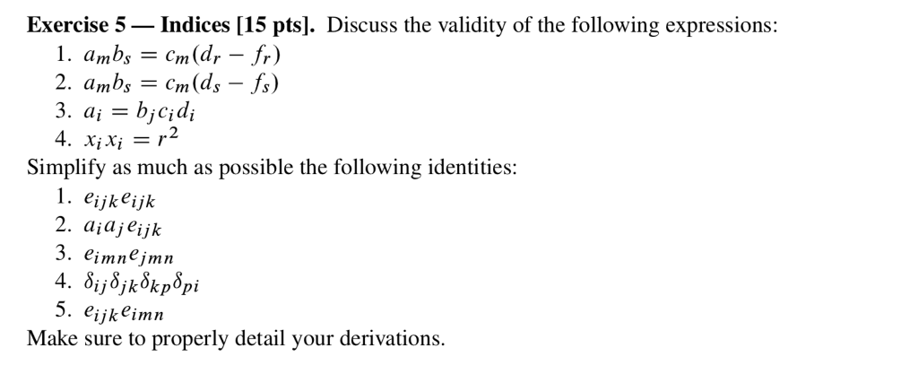 This Question Is Related To Einstein Notation Whe Chegg