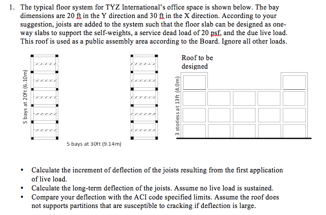 1. The Typical Floor System For TYZ International ...