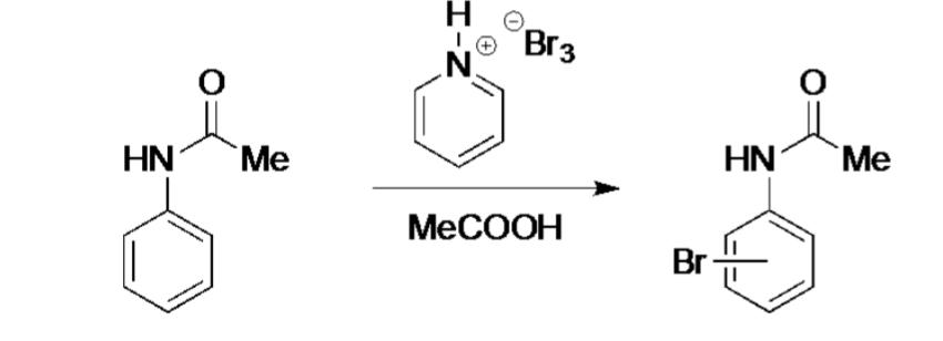 bromination of acetanilide mechanism